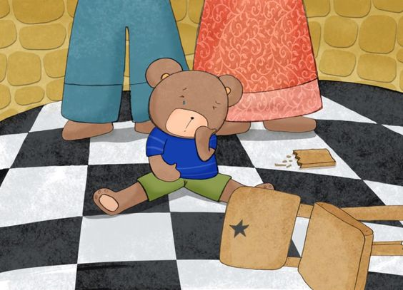 12 - Goudlokje en de drie beren: