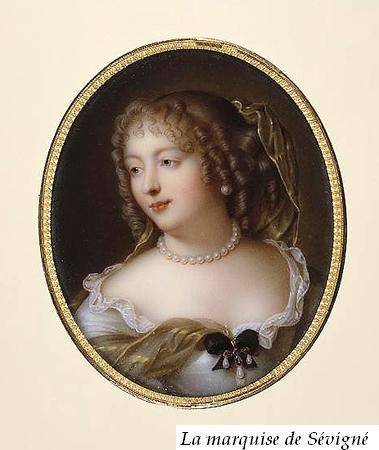 Portrait de Mme de Sévigné.: