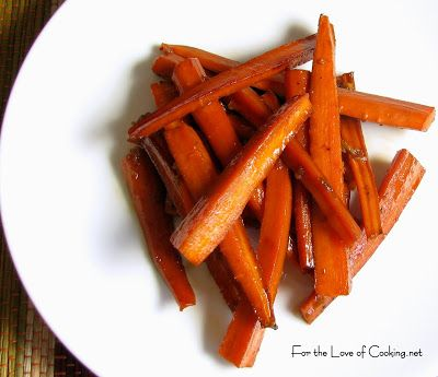 Asian Roasted Carrots: