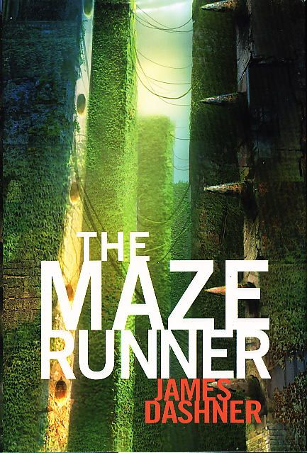 the maze runner book | Book cover picture of Dashner, James. THE MAZE RUNNER. New York ...