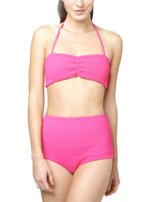 Hot pink retro bikini!