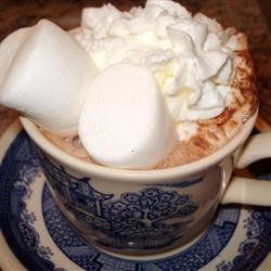 Thought I would share,  recipe for Hot Cocoa