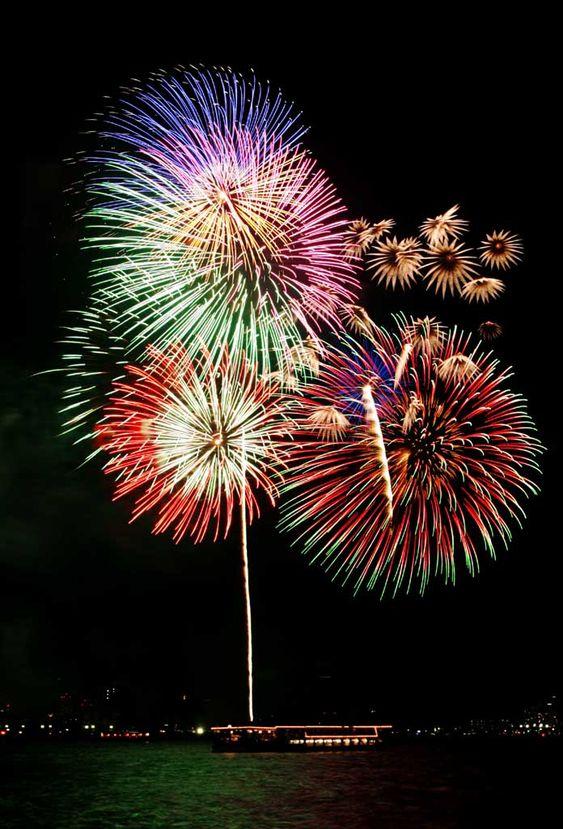 Tokyo Bay Great Fireworks