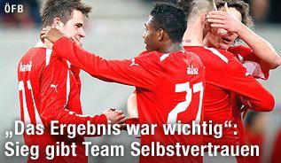 Na das ist ja mal ein Ergebnis mit dem man als Österreicher auch mal leben kann! ;-)