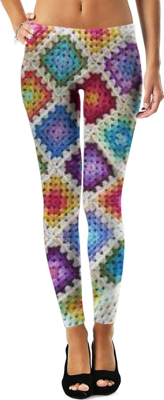 ROWL Crochet Leggings