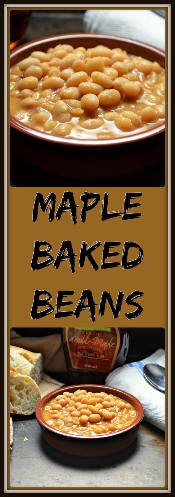 Homemade Quebec Maple Baked Beans #SundaySupper | Recipe | Homemade ...