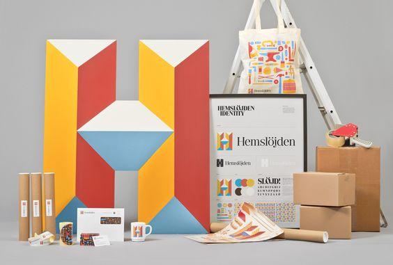 New Logo and Identity for Hemslöjden by Snask