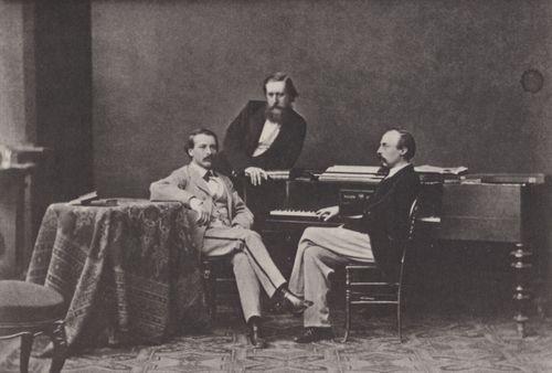Albert, Joseph: Wagnerinterpreten – Karl Tausigk, Karl Klindworth, Hans von Bülow