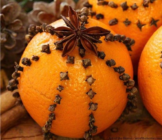 Orange and Cloves