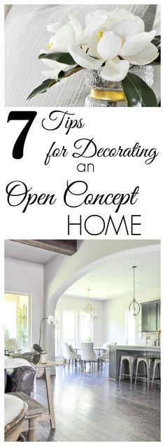 How to Decorate an Open Concept Living Area
