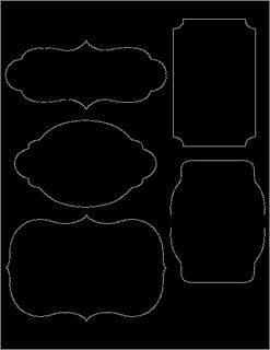 Diy chalkboard labels template free printables for Free chalkboard template