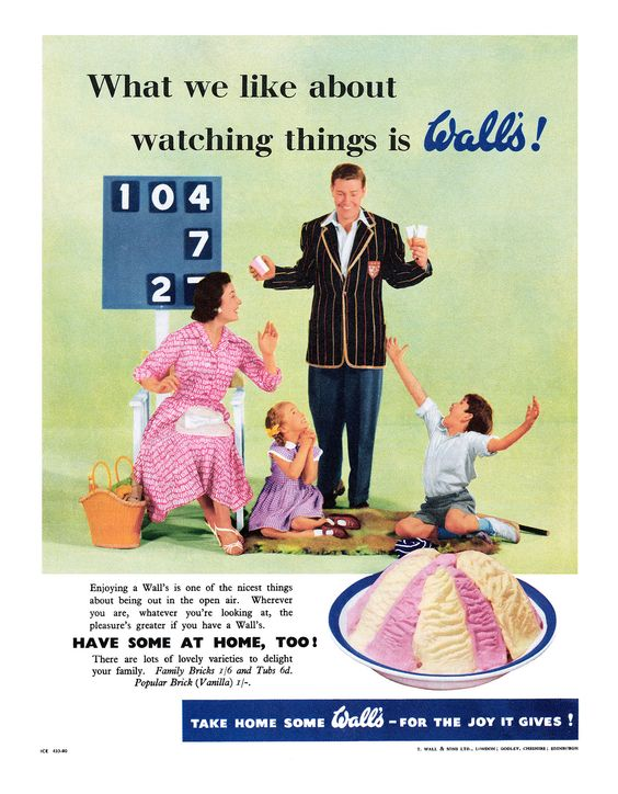 1956 Wall's Ice Cream ad | Flickr - Photo Sharing!