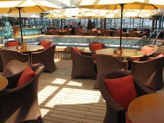 Crystal Serenity pool deck... I can't wait!!