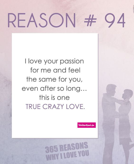 Why I Love You Quotes: Reasons Why I Love You #94