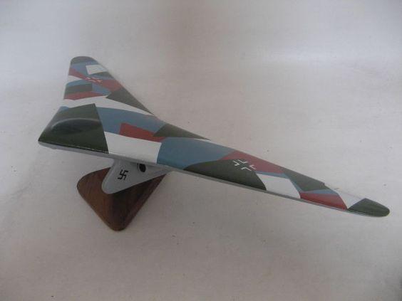 Horten 18B Xviiib Flying Wings Airplane Wood Model | eBay