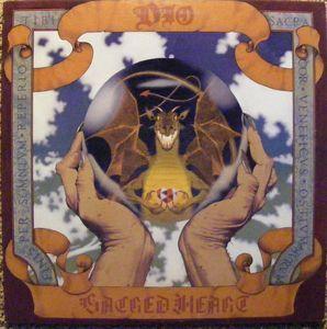 Dio  - Sacred Heart $35s