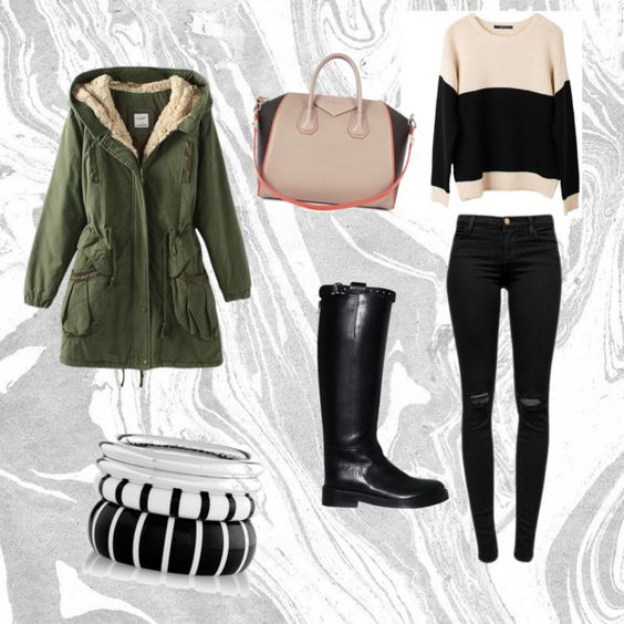 stay warm x by djgeorgieh on Polyvore featuring polyvore fashion style Ash Rain + Oak J Brand Ann Demeulemeester Givenchy