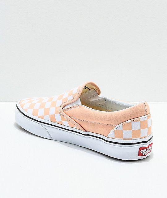 Vans Slip-On Bleached Apricot \u0026 White