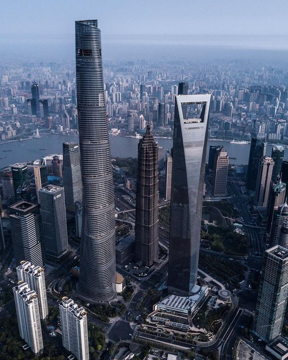 Location of Shanghai Tower