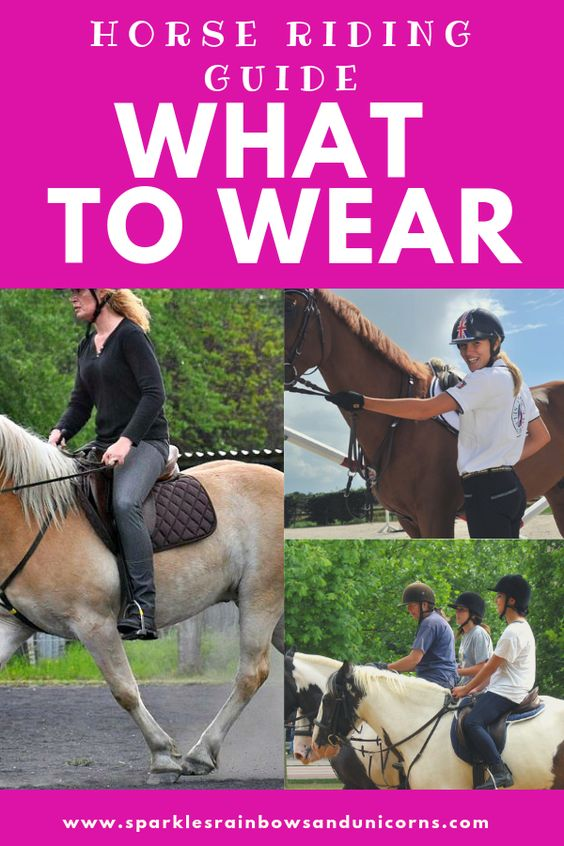 If you are:  *Going to start riding lessons  *Going on a guided trail riding  *A rider just starting out  *Needing your first riding outfit  *Wanting to save money on your riding outfit.  Definitely check out my guide to get you started and help you save money. I also provide a link to my shopping list on amazon for a full riding outfit just under $100. Cheers!