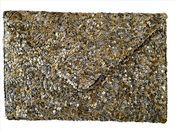 Squillions of sequins clutch for a fabulous amount of sparkle! At Heel to Toe for Spring 2016
