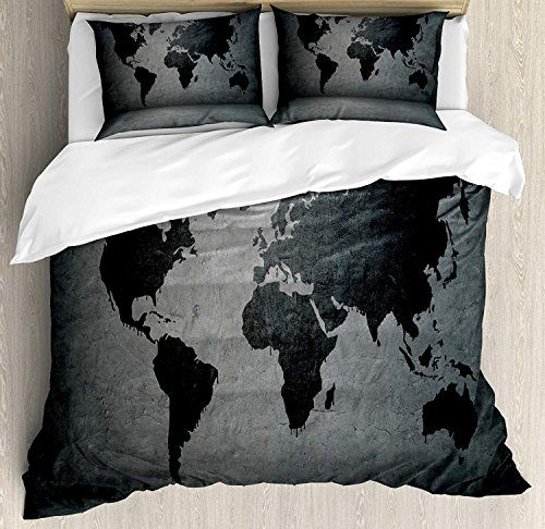 Dark Grey Duvet Cover Set Luxury Soft Hotel Quality 4 Piece Twin Plush Microfiber Bedding Sets Black Duvet Cover Sets Dark Grey Duvet Covers Gray Duvet Cover