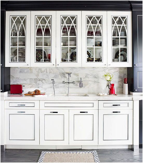 Kitchen Cabinets Glass Doors, Glass Kitchen Cabinet Doors