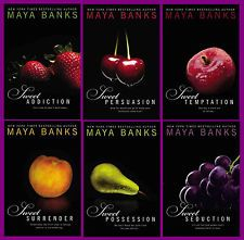 Sweet Series Maya Banks. One of my favs but definitely more hard core...