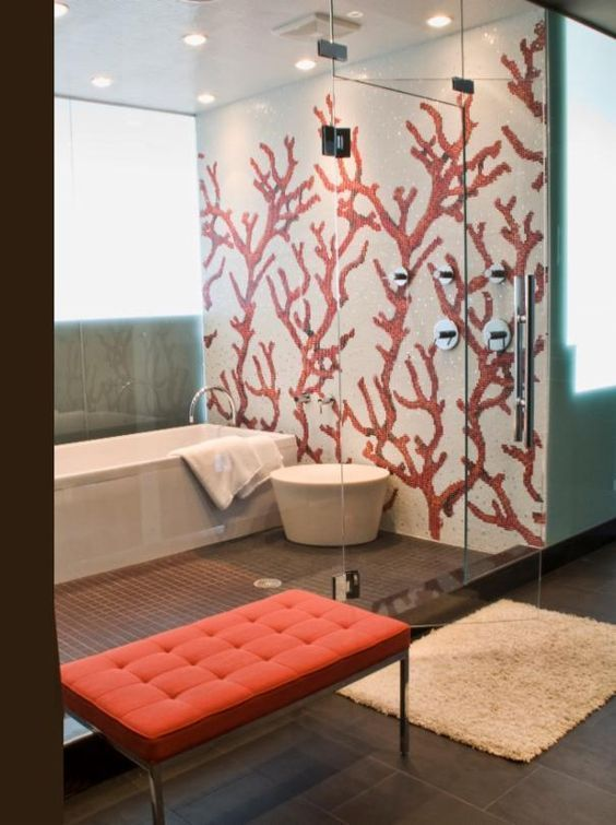 Art Decor Has Never Been So Charming Since The Beginning Of The Year Many Girls Were Looking Home Interior Design Interior Decorating Styles Eclectic Bathroom