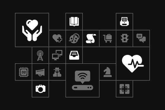 Glypho - 900+ Vector Glyph Icons by Bogdan Rosu on @creativemarket