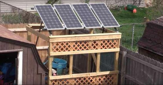 If Having An Off Grid Life Is Something That Interests You This Small Solar System Diy Tutorial Is Solarpanels Solar Panels Diy Solar Solar
