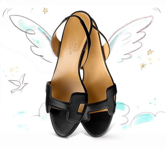 replica hermes h sandals
