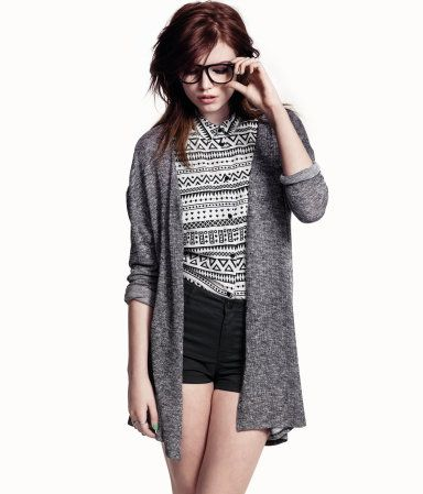 Drape cardigan in grey, $12.99 from H.