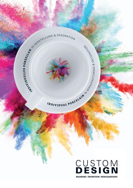 Porzellan individuell Custom Design Werbetassen