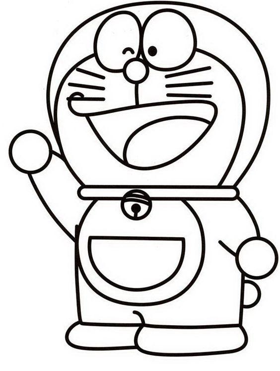 Doraemon da colorare disegni da colorare pinterest film for Doraemon da colorare