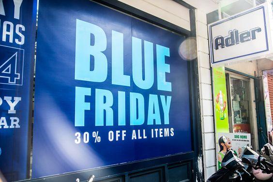 BLUE FRIDAY EVENT