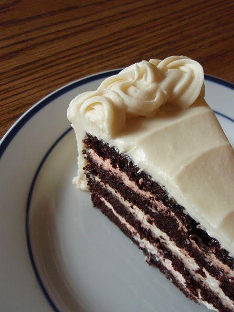 Double Shot White Chocolate Mocha Cake.