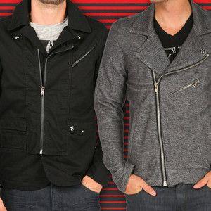 gray fleece motorcycle jacket - young machines