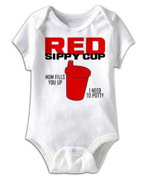 Red sippy cup