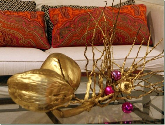 Gilded coconuts!