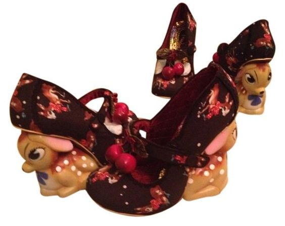 Irregular Choice Cherry Deer Black Wedges. Get the must-have wedges of this season! These Irregular Choice Cherry Deer Black Wedges are a top 10 member favorite on Tradesy. Save on yours before they're sold out!