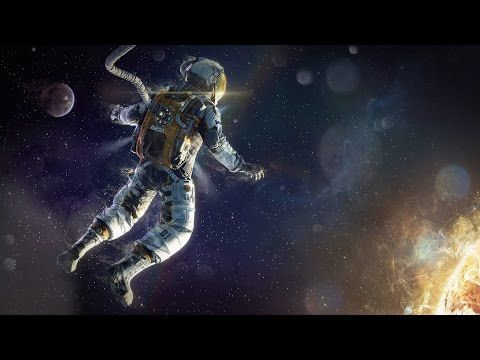 Image result for astronaut floating in space