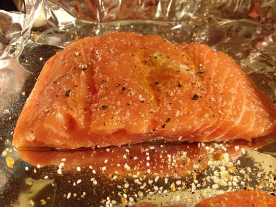 how to cook the perfect salmon in the oven