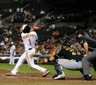 Long layoff no prob for B-Rob : Brian Roberts returns to the majors, goes 3 for 4 on Tuesday, June 12, 2012