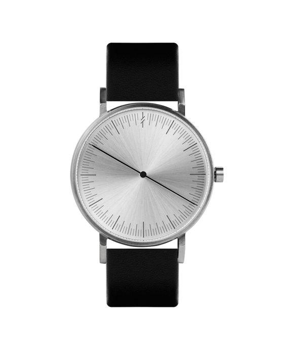 Simpl Watch Silver Black   101.Watch Store