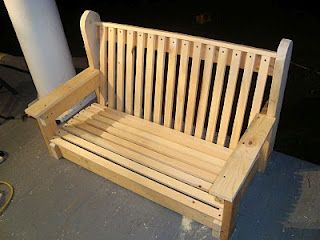 Tales from the Farmhouse: Building a Porch Swing