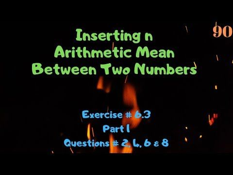 Xi Maths Chapter 6 Sequences And Series Youtube In 2021 Math Lecture Chapter