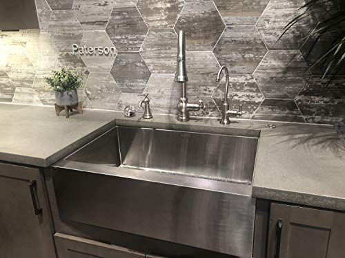 Torva 30 Inch Apron Front Farmhouse Kitchen Sink Single Bowl 16 Gauge Stainless Steel Flat Front In 2020 Farmhouse Sink Kitchen Sink Stainless Steel Farmhouse Sink
