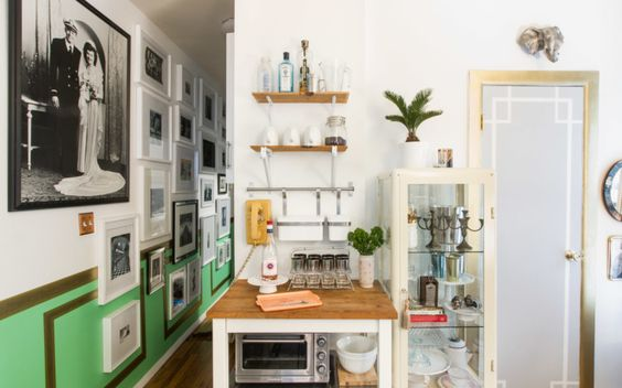 3 genius hacks for making a tiny living space look larger than life.