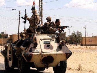 مقتل ثلاثة رجال امن مصريين برصاص مسلحين في هجمات متفرقة بسيناء